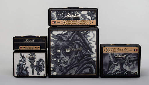 Marshall Custom Shop Tattoo Series рисунок Phil Kyle