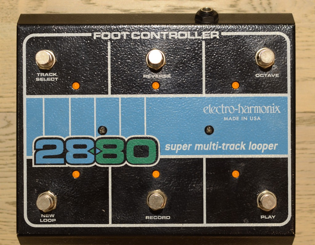 Electro-Harmonix 2880 Super Multi-Track Looper Footswitch